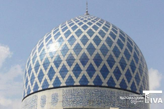 عکس سقف گنبد 650x433 - گالری گنبد (سطوح قوسی)