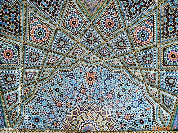 عکس کاشی کاری اسلیمی - گالری کاشی کاری (اسلیمی)