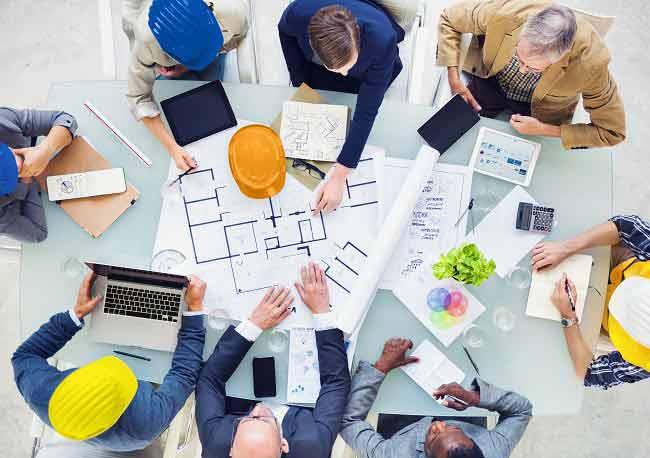 شرکت پیمانکاری ساختمانی - خانه