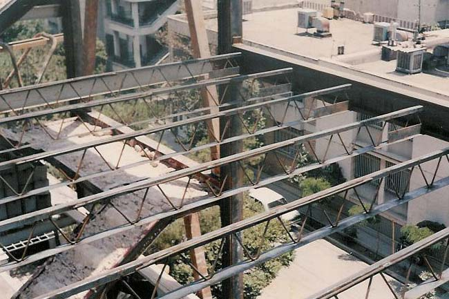سقف کرومیت - اجرای سقف کرومیت