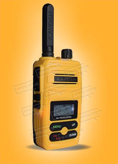 بیسیم واکی تاکی مجاز کاوش رنگ زرد KAVOSH T816 - بیسیم واکی تاکی مجاز کاوش KAVOSH T816