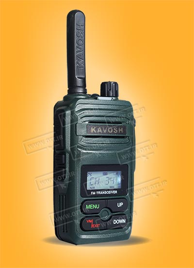 بیسیم واکی تاکی مجاز کاوش رنگ سبز KAVOSH T816 - بیسیم واکی تاکی مجاز کاوش KAVOSH T816