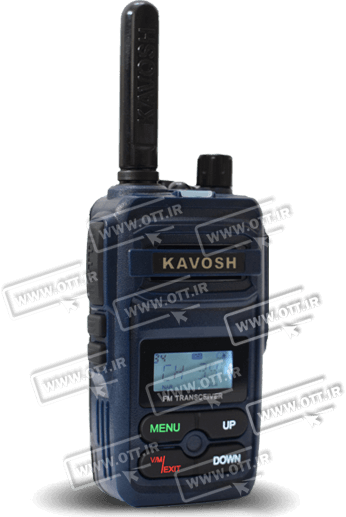walkie talkie KAVOSH T816 - بیسیم واکی تاکی مجاز طنین TANIN TN2000