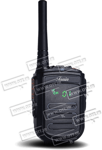 walkie talkie tanin gp 23 - بیسیم واکی تاکی مجاز طنین TANIN TN2000
