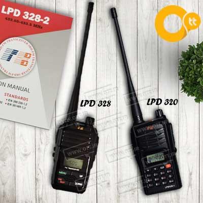 walkie talkie tb lpd - معرفی انواع بیسیم واکی تاکی مجاز TB LPD